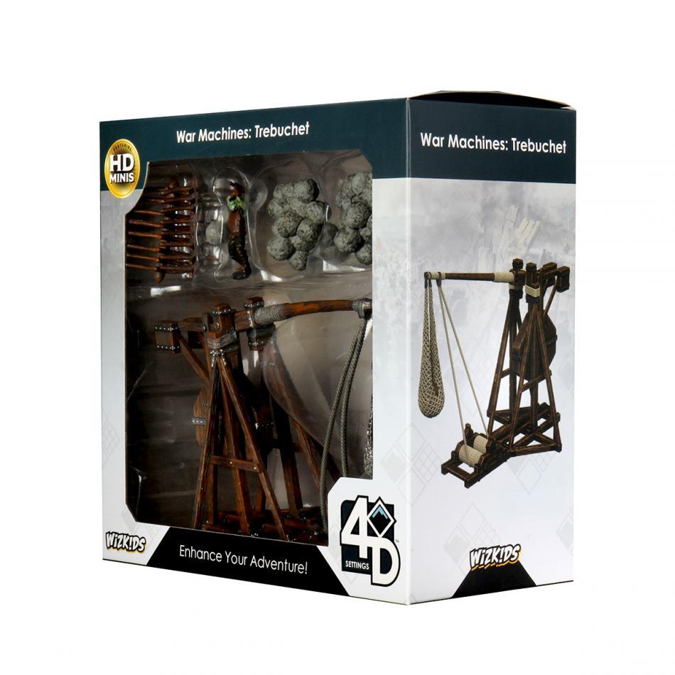 WizKids 4D Settings: War Machines: Trebuchet