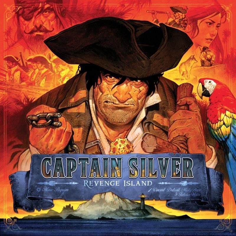 Captain Silver: Revenge Island: Treasure Island Expansion
