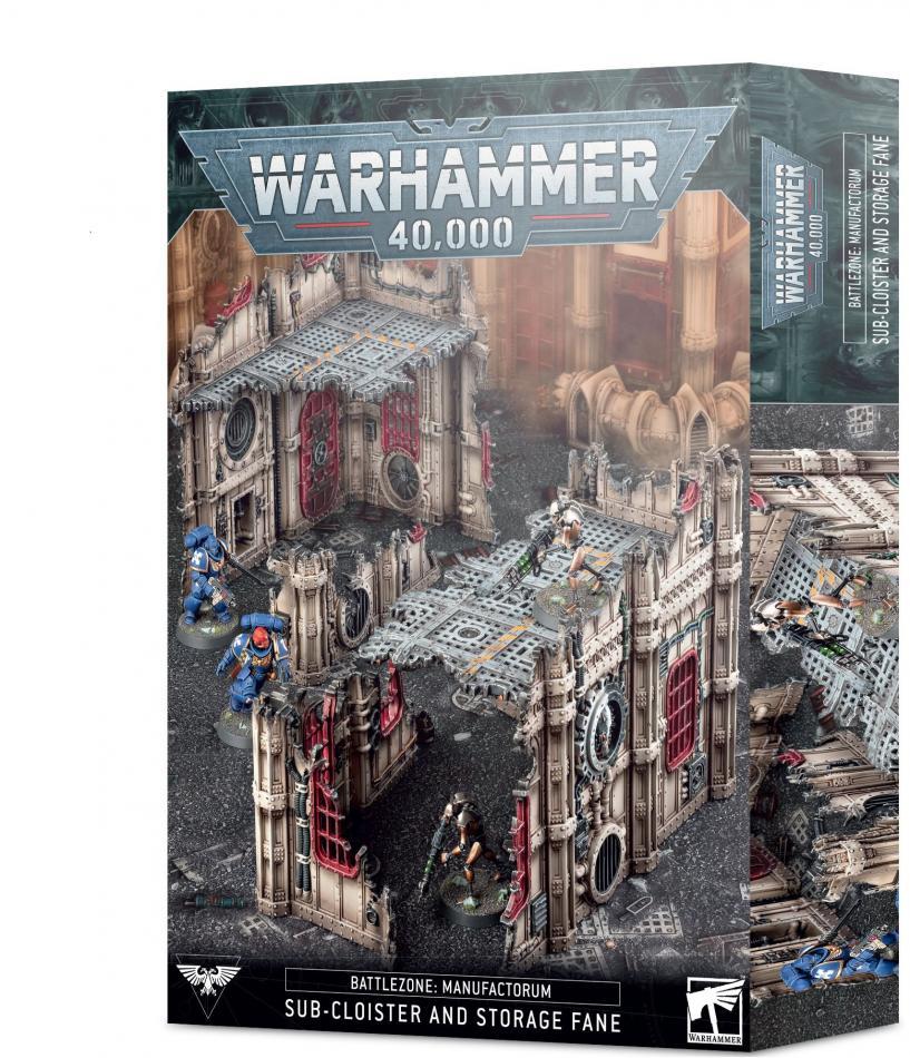 Battlezone Manufactorum: Sub-Cloister & Storage Fane