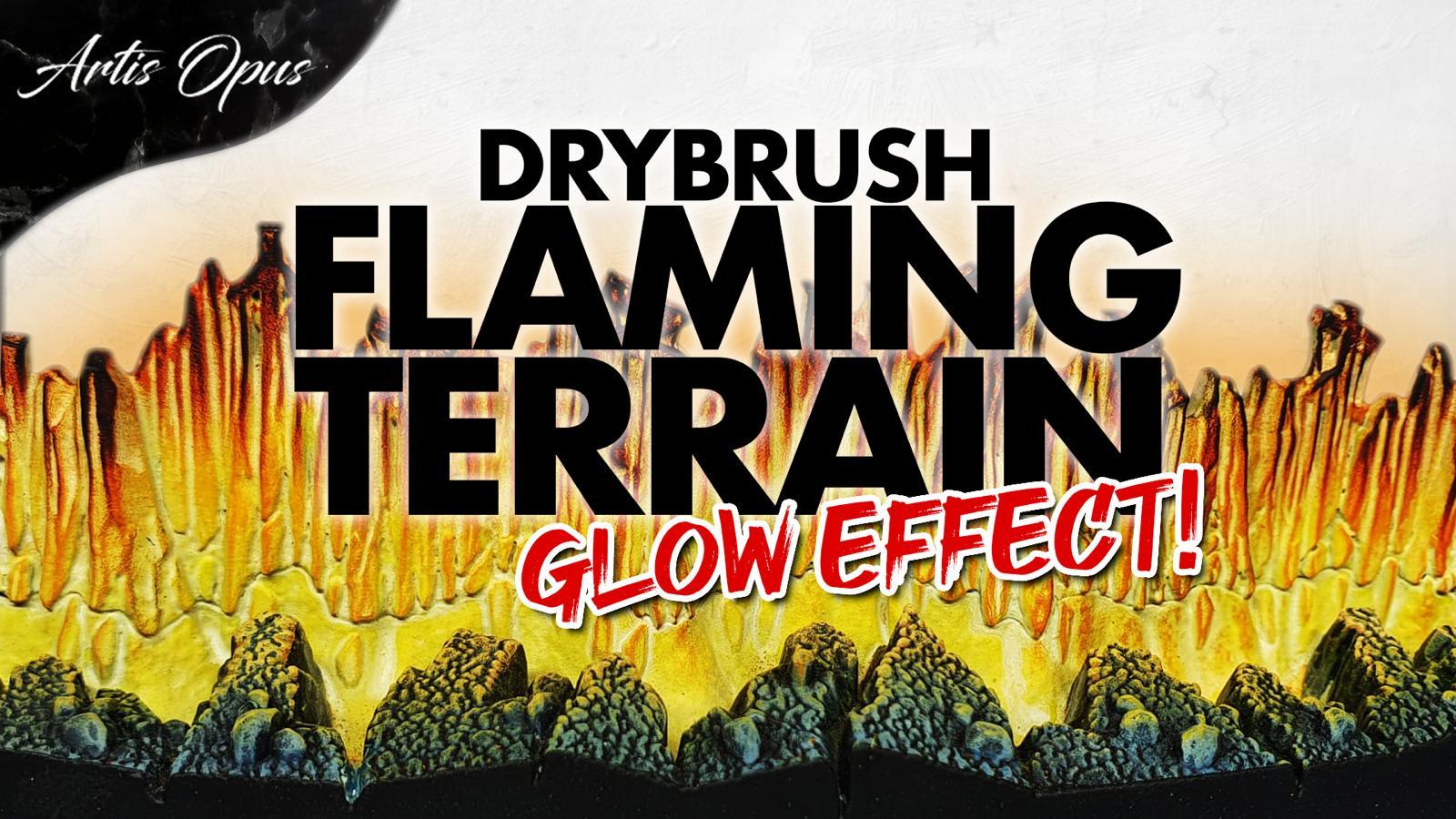 Artis Opus Glowing Flame Terrain Paint bundle