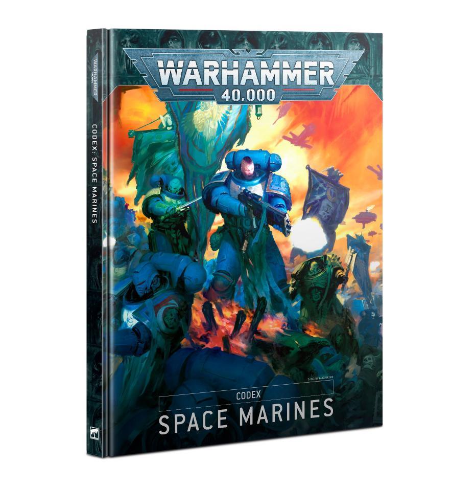 Codex: Space Marines 9th Edition (Hardback) (English)