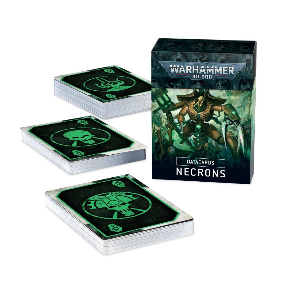 Datacards: Necrons (English - 9th Edition)