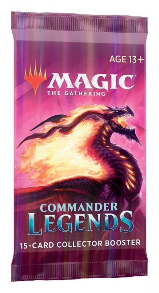 MTG: Commander Legends Collector Booster - Single