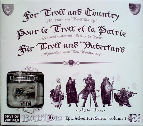 BattleLore: For Troll & Country Battle Map