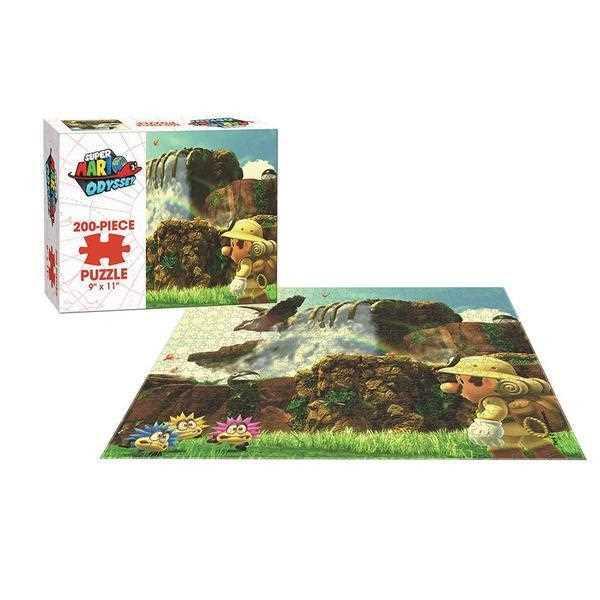 Super Mario Odyssey Cascade 200 Piece Puzzle