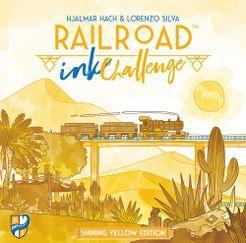 Railroad Ink Challenge- Shining Yellow Edition