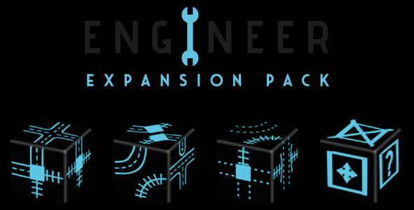 Railroad Ink Challenge Engineer Dice Expansion Pack