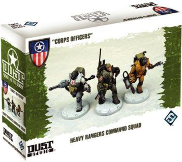 Dust Tactics: Corps Officers