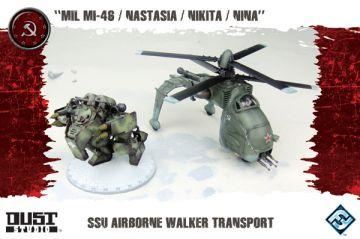 Dust Tactics: SSU Airbourne Walker Transport