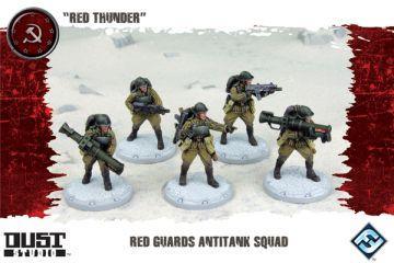 Dust Tactics: Red Guards Anti-Tank Squad