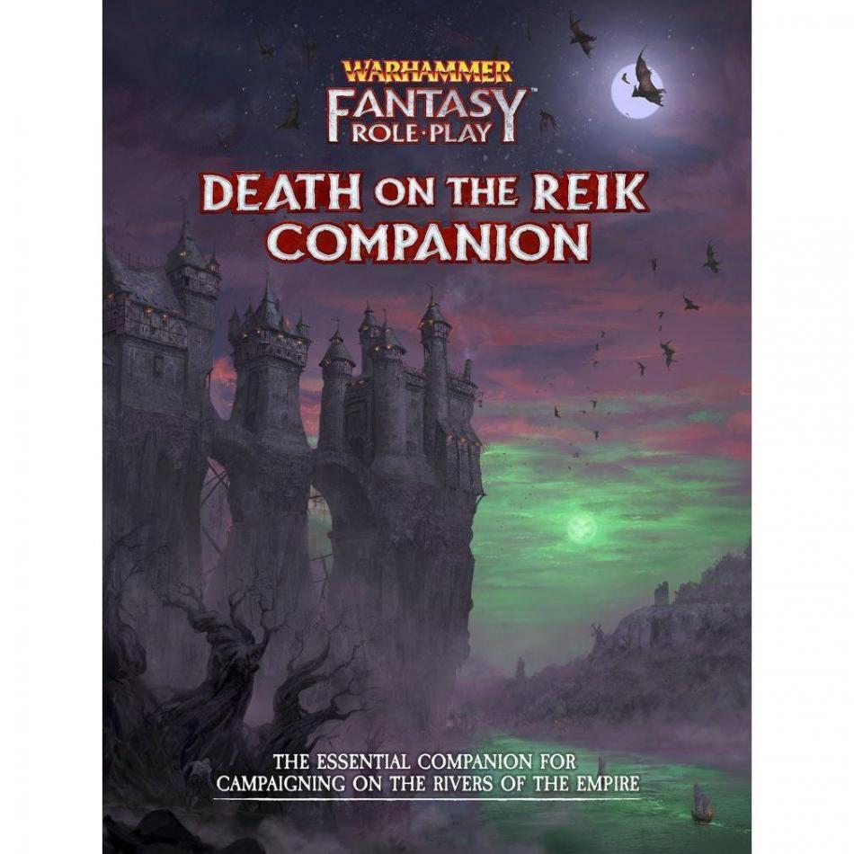 Death on the Reik Companion: Warhammer Fantasy Roleplay Fourth Edition (WFRP4)