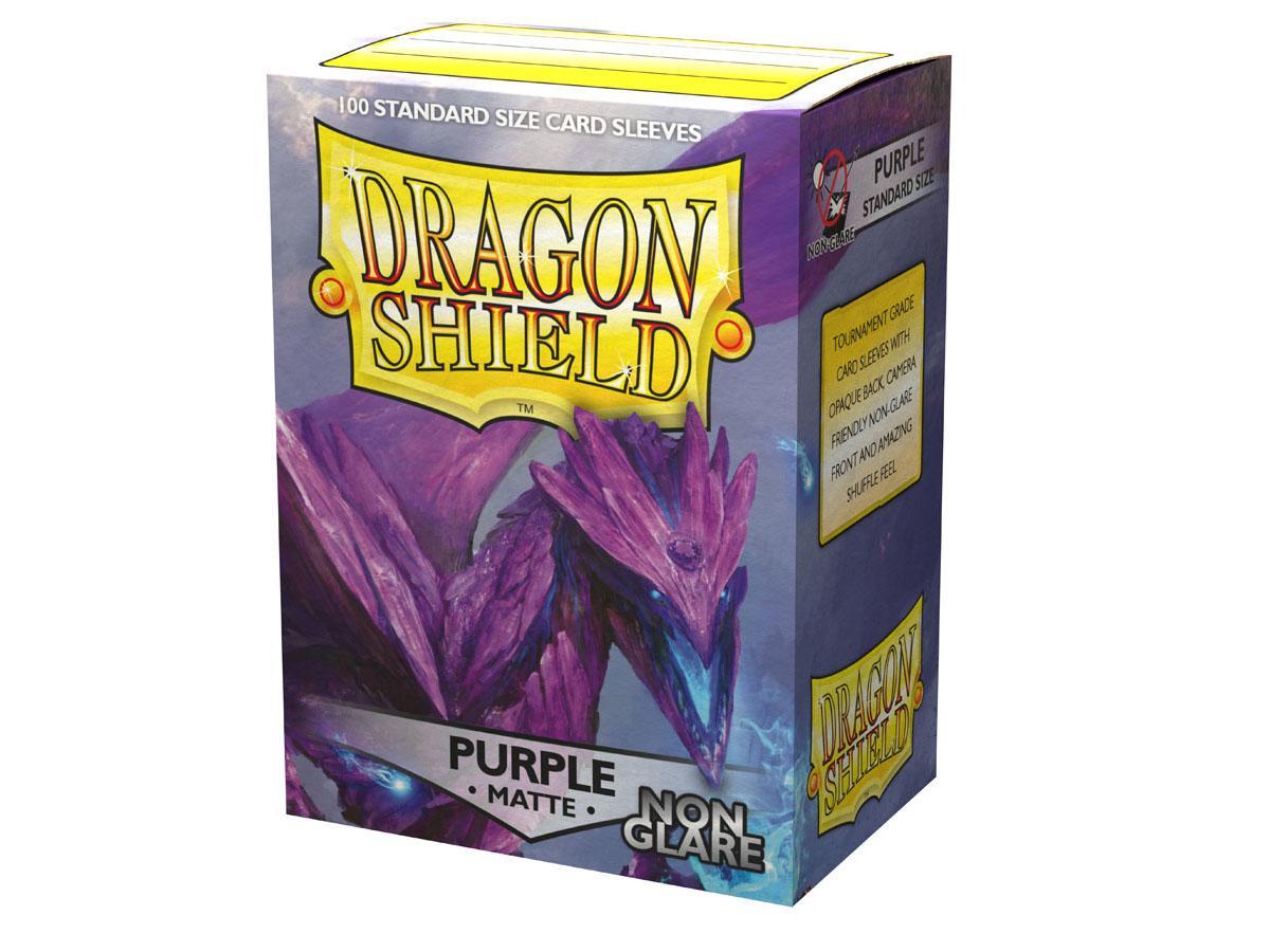Dragon Shield Sleeves Non-Glare Matte Purple (100)