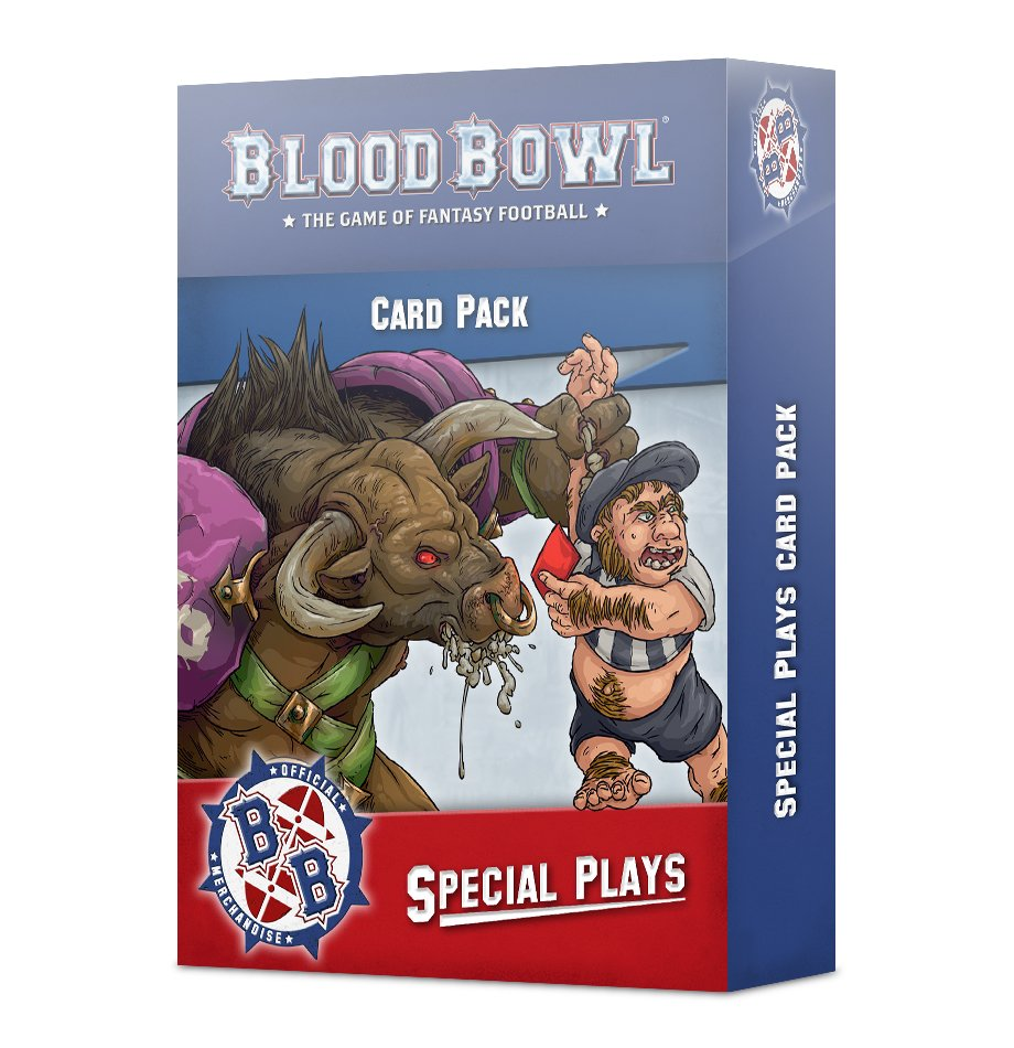 Blood Bowl Special Plays Cards