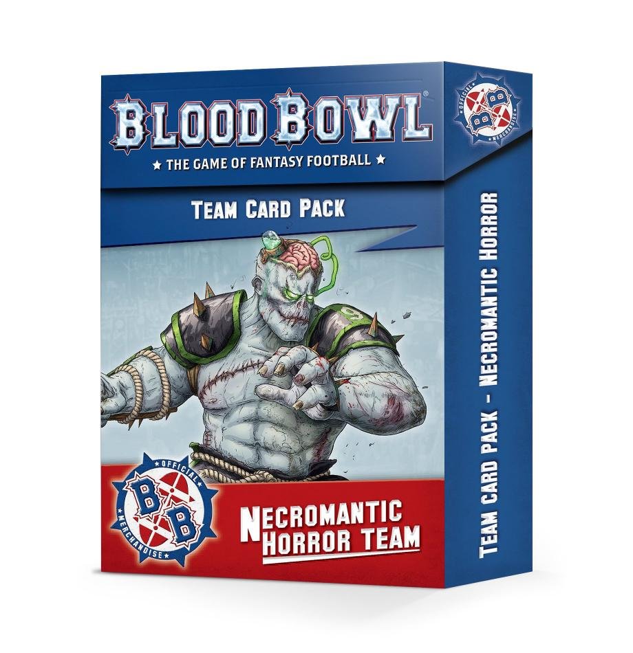 Blood Bowl Necromantic Team Cards (English)
