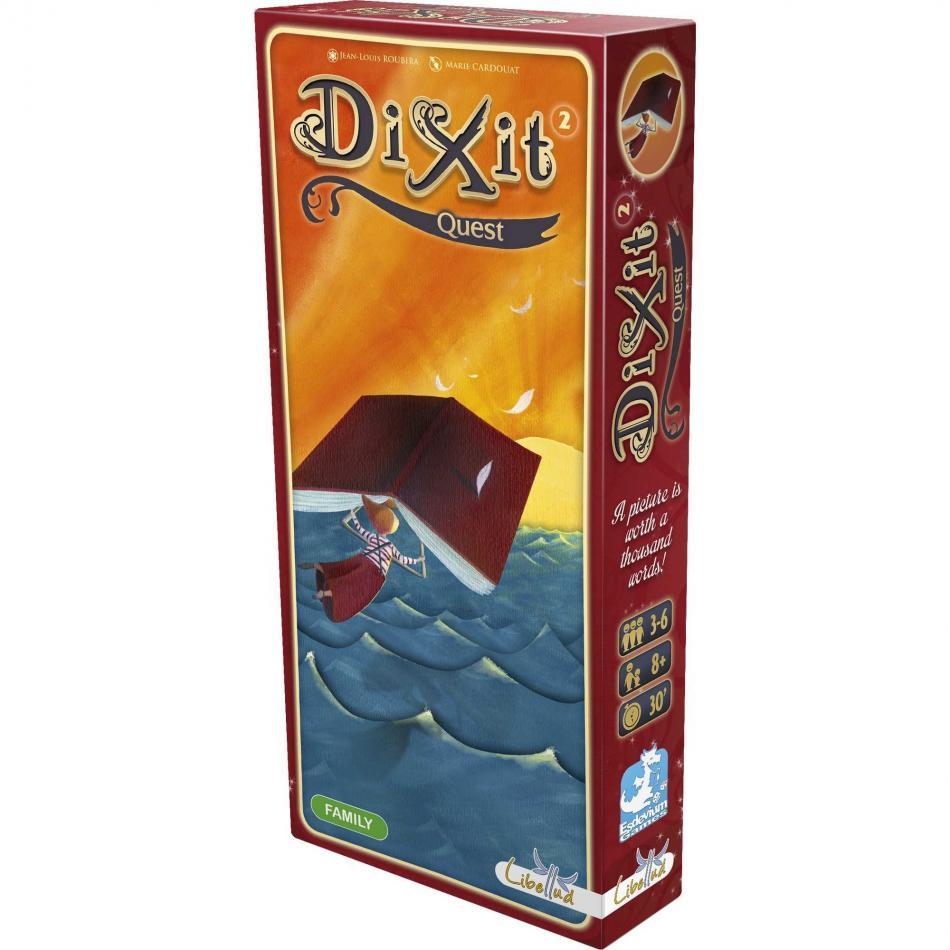 Dixit Exp 2: Quest US Version