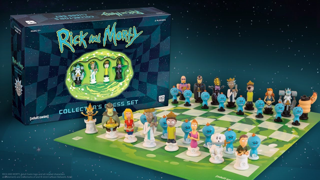 Rick and Morty: Collector's Chess Set