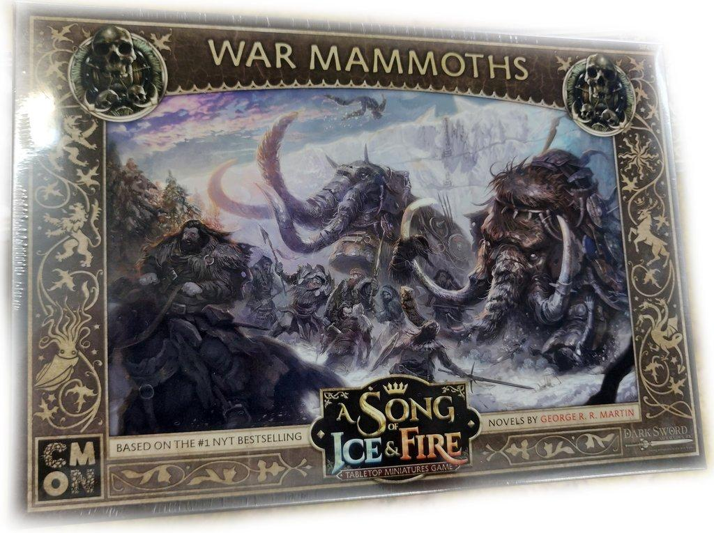 War Mammoths: A Song of Ice and Fire
