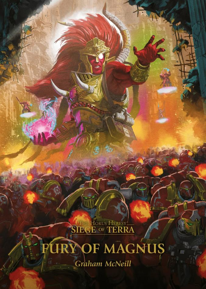 Siege of Terra: Fury of Magnus (Hardback)