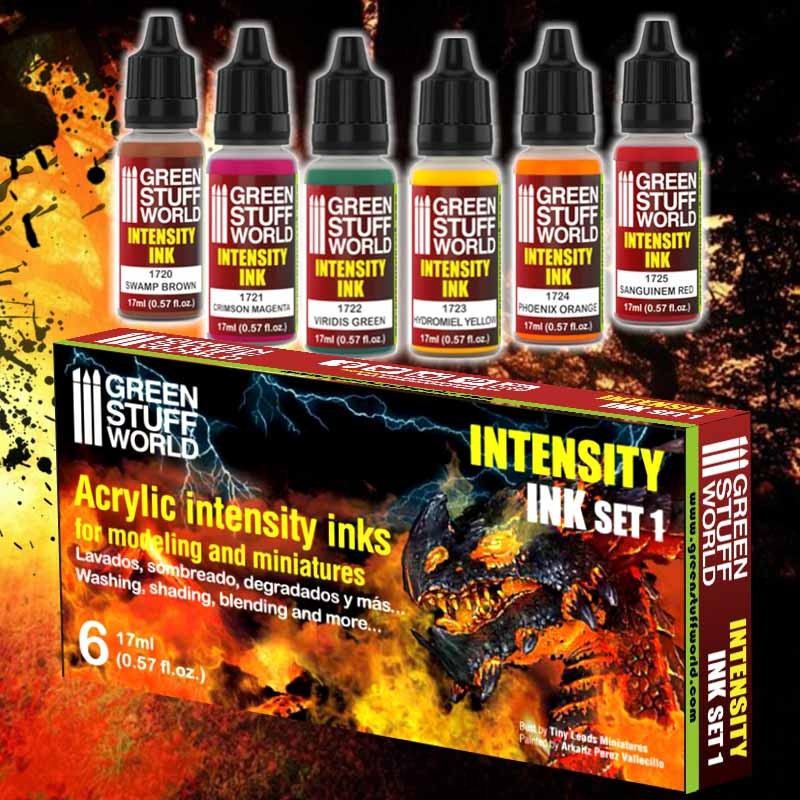 Set x6 Intensity Inks - Set 1