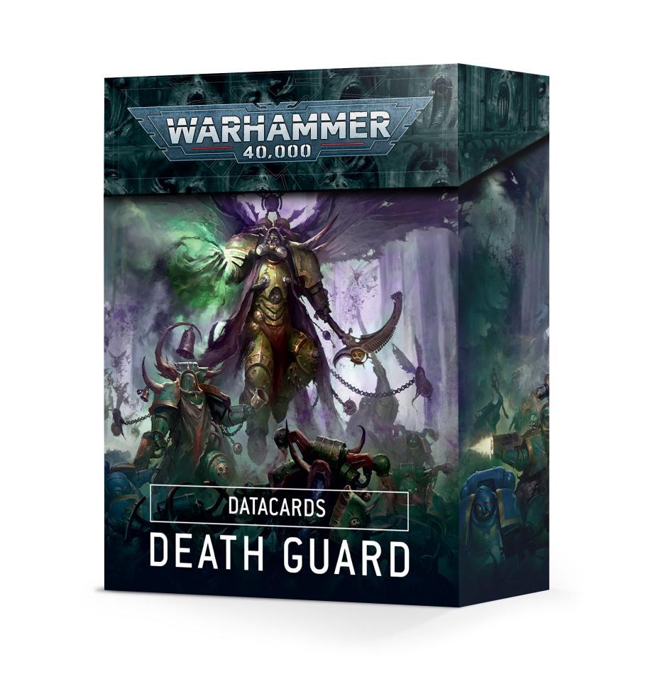 Datacards: Death Guard (English)