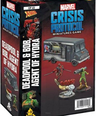 Deadpool and Bob: Marvel Crisis Protocol