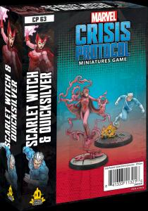 Scarlet Witch and Quicksilver: Marvel Crisis Protocol