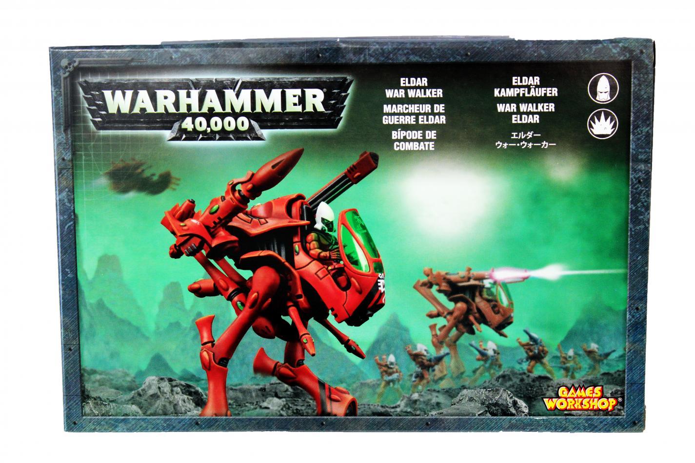 Eldar War Walker Squadron (3x War Walkers)