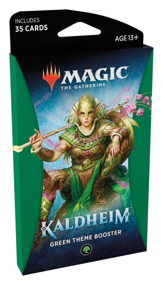 MTG: Kaldheim Theme Booster - Green