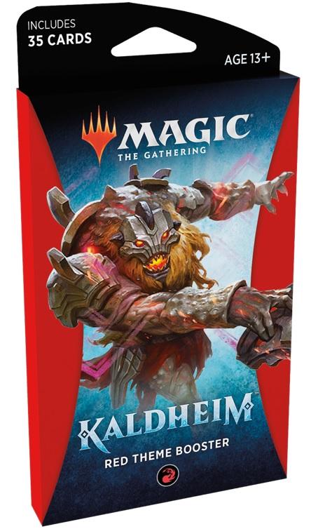 MTG: Kaldheim Theme Booster - Red