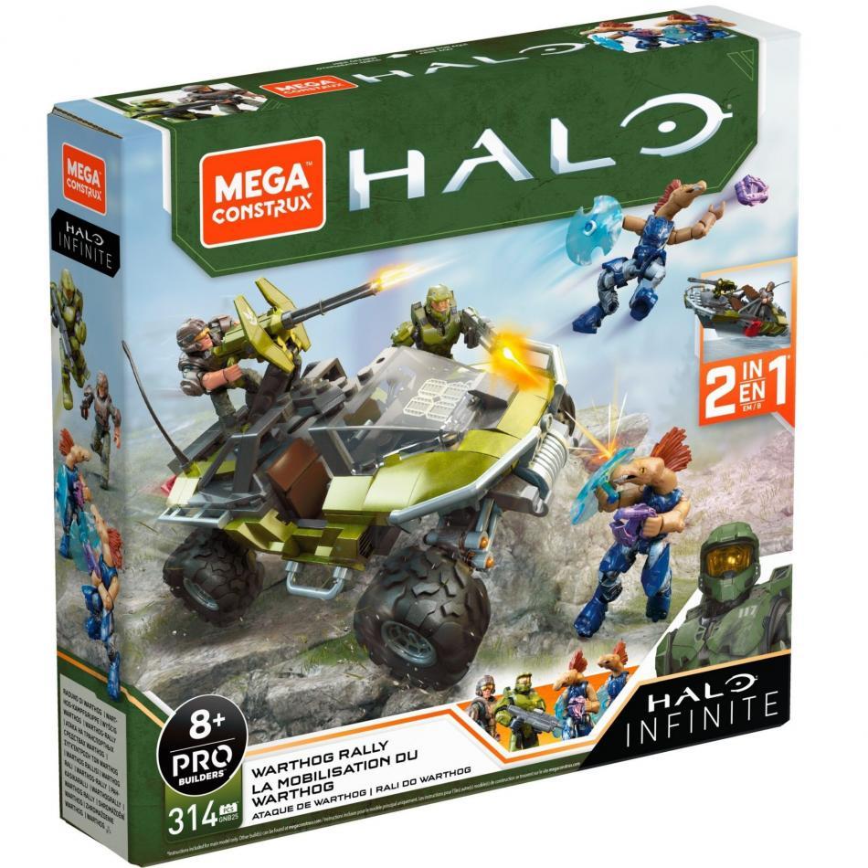 Mega Construx- Halo Warthog Rally