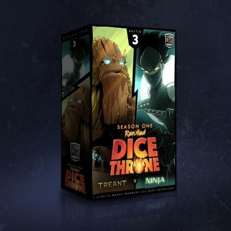 Dice Throne Season One ReRolled 4: Treant vs. Ninja