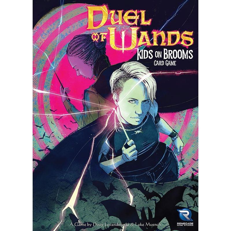 Duel of Wands: Kids on Brooms Card Game