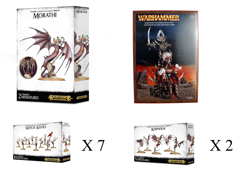 Fachammer Classic Daughters of Khaine bundle