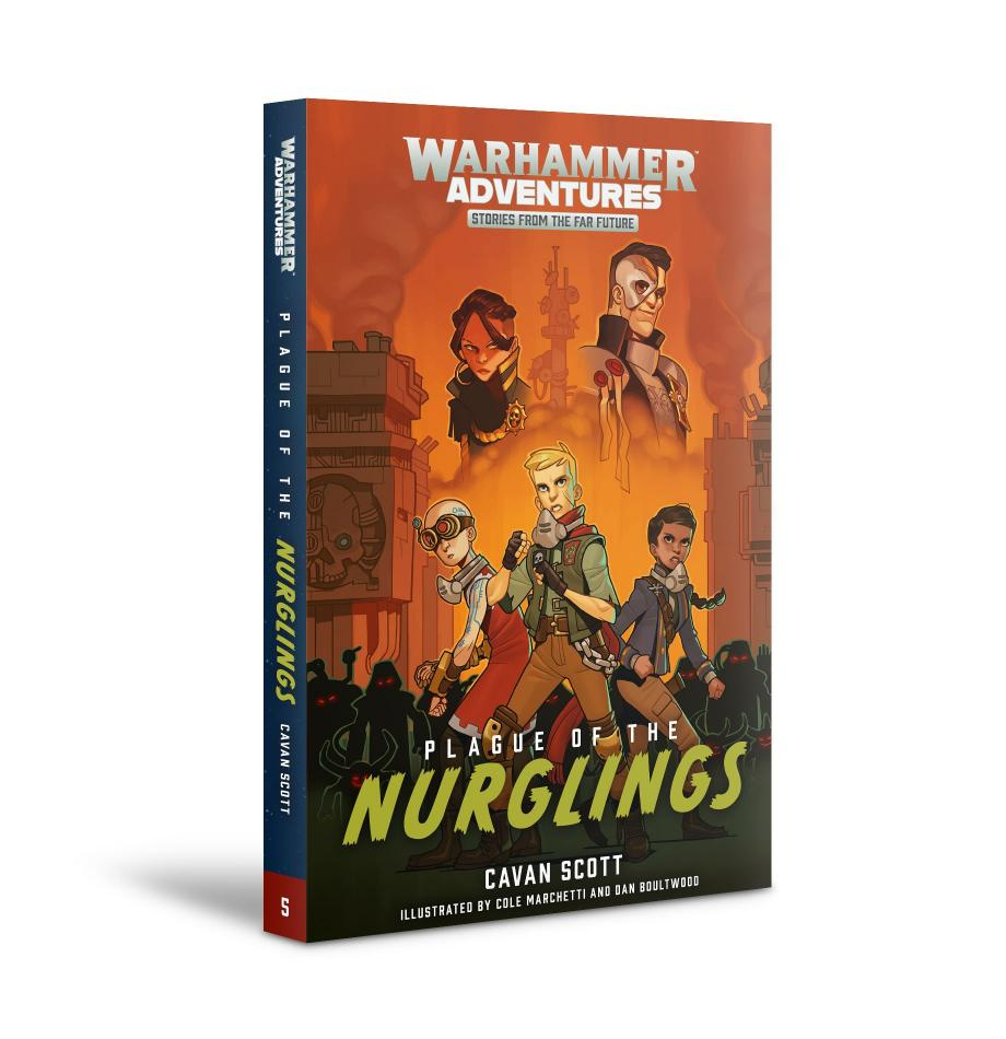 Warhammer Galaxies: Plague of the Nurglings (Paperback)