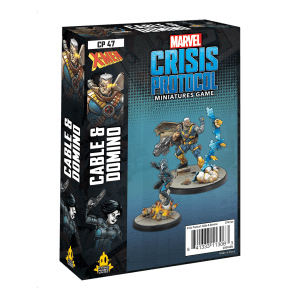 Cable and Domino: Marvel Crisis Protocol Miniatures Game
