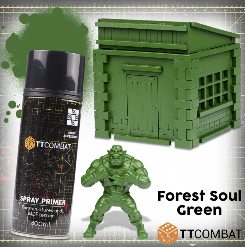 Forest Soul Green