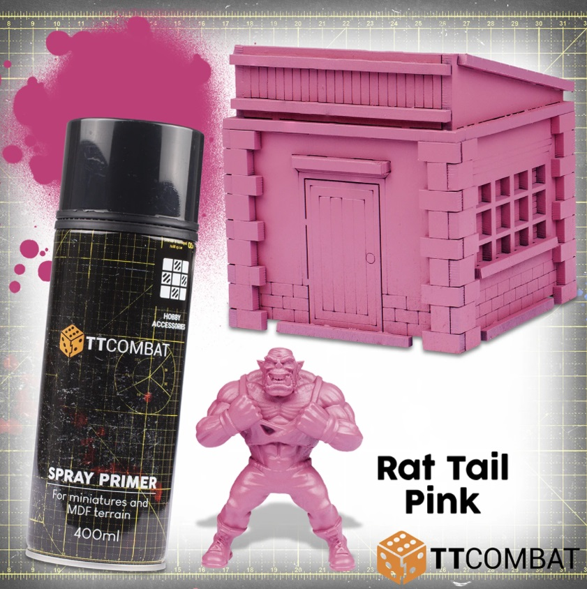 Rat Tail Pink