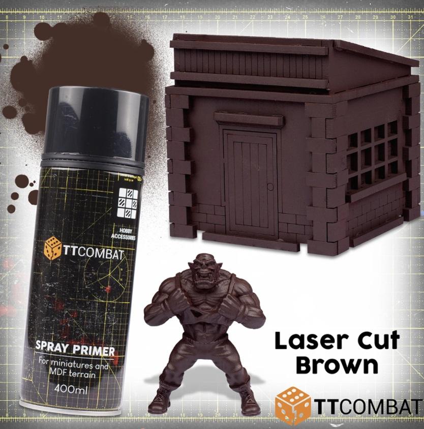 Laser Cut Brown
