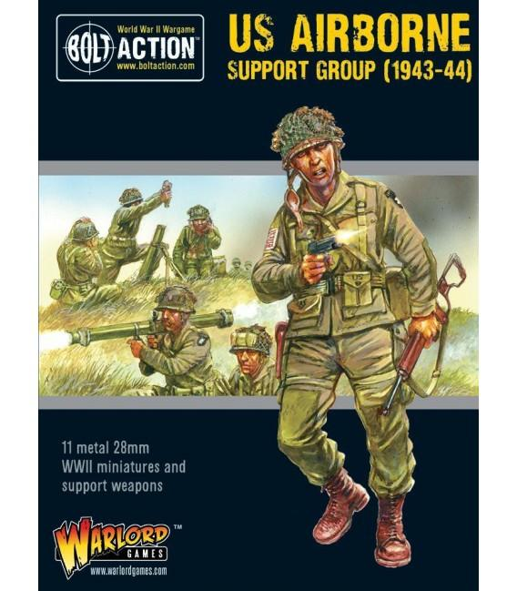 US Airborne Support Group (1943-44) (HQ, Mortar & MMG)