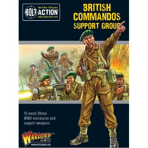 Commandos Support Group (HQ, Mortar & MMG)