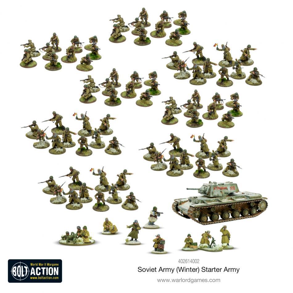 Soviet Army Winter Starter army
