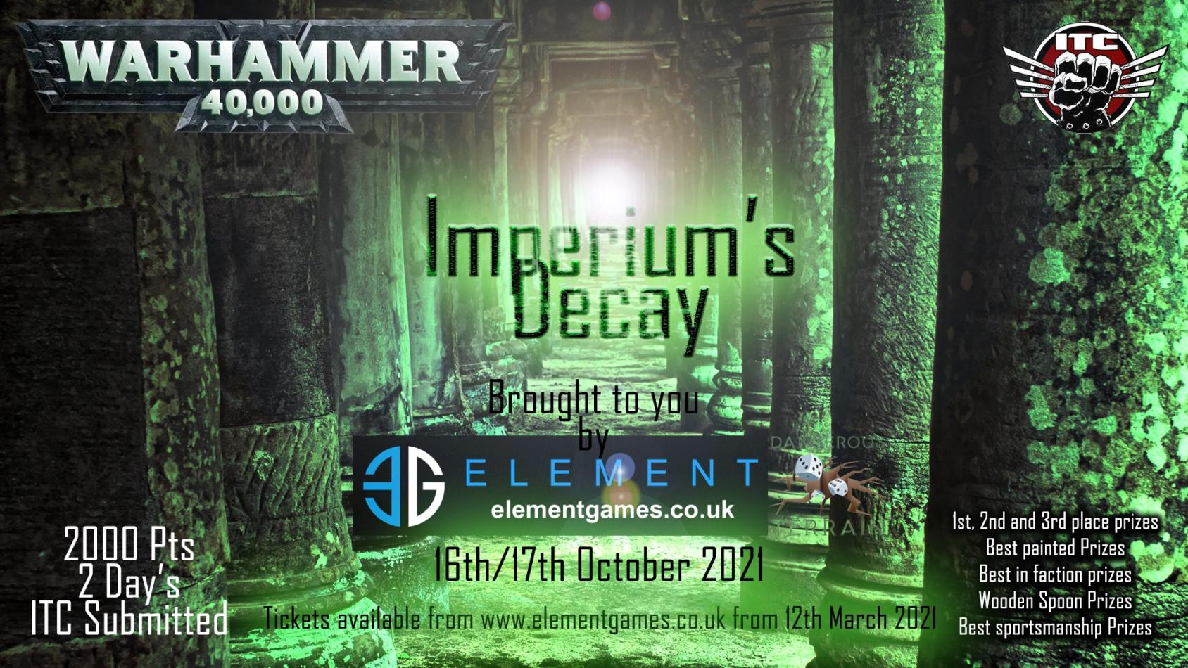 Imperium's Decay 2021: Warhammer 40000