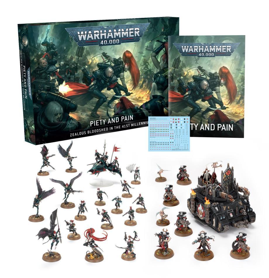 Warhammer 40000: Piety and Pain (English)