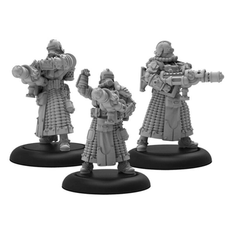 Crucible Guard Combat Alchemist Unit Containment Operatives