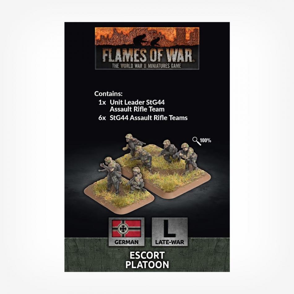 Escort Platoon (x30 Figs Plastic)