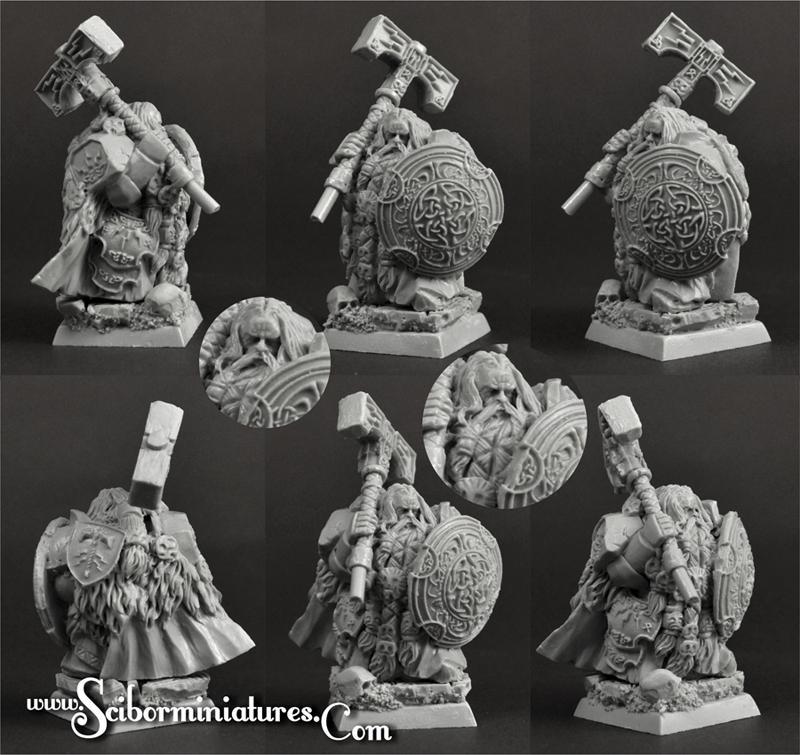 28mm/30mm Dwarf Lord Nurgrok