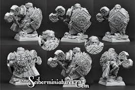 28mm/30mm Dwarf Lord Melgrim