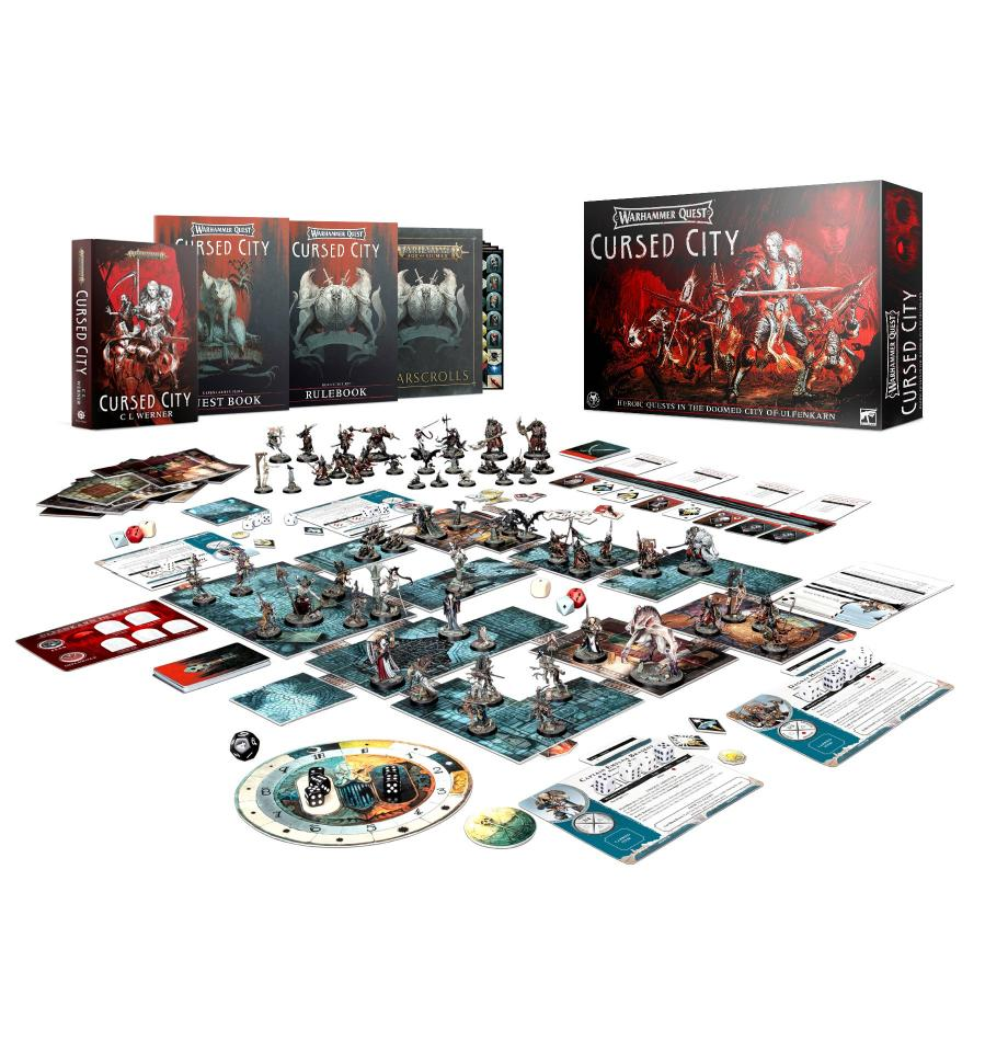 Warhammer Quest: Cursed City (English) *Limited to One Per Customer*