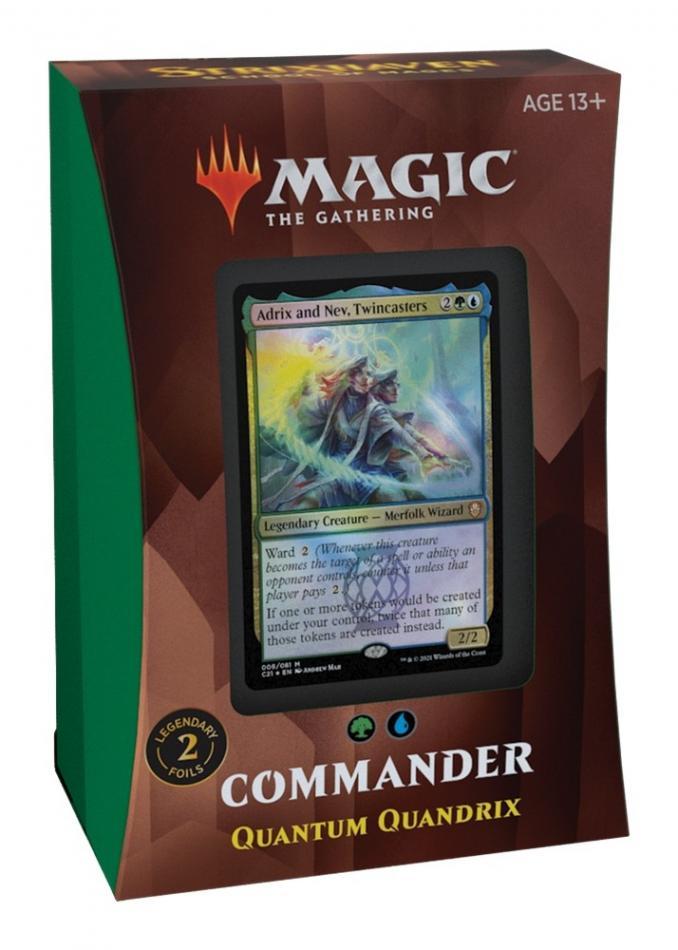 MTG: Strixhaven School of Mages Commander Deck - Quantum Quandrix