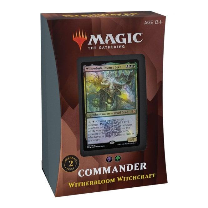 MTG: Strixhaven School of Mages Commander Deck - Witherbloom Witchcraft